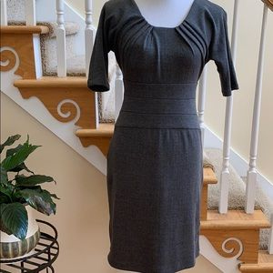 Classic Gray Business Dress